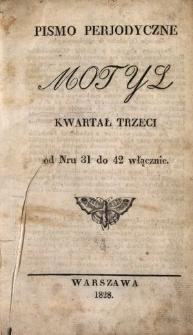 Motyl N.31-42