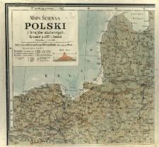 Mapa ścienna Polski i krajów ościennych