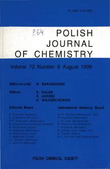 Vo.73 no 8 (1999) - SpisTreściOkładki