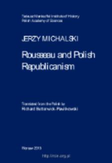 Rousseau and Polish Republicanism