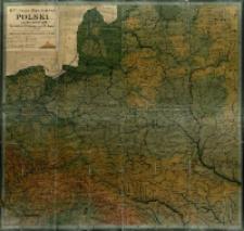 G. Freytaga mapa ścienna Polski i krajów ościennych