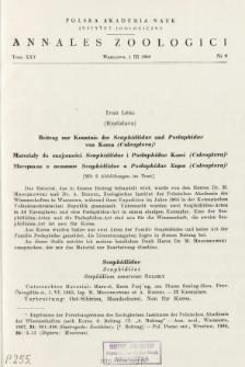 Beitrag zur Kenntnis der Scaphidiidae und Pselaphidae von Korea (Coleoptera) = Materiały do znajomości Scaphidiidae i Pselaphidae Korei (Coleoptera)