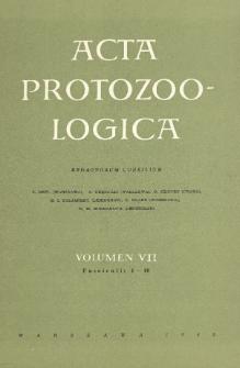 Acta Protozoologica, Vol. VII, Fasc. 1-10