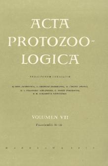 Acta Protozoologica, Vol. VII, Fasc. 11-22