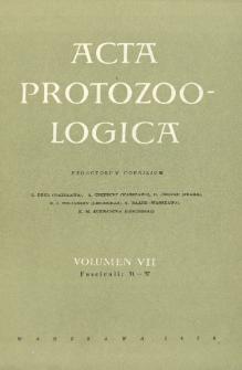 Acta Protozoologica, Vol. VII, Fasc. 31-37