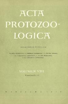 Acta Protozoologica, Vol. VIII, Fasc. 1-7
