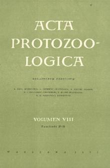 Acta Protozoologica, Vol. VIII, Fasc. 27-33