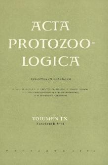 Acta Protozoologica, Vol. IX, Fasc. 9-14