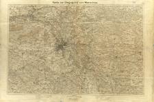 Karte der Umgegend von Warschau