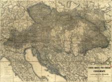 F. W. Klenner's General Handels- Post- Strassen und Eisenbahnkarte der oesterreichischen Monarchie