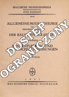 Allgemeine Modultheorie