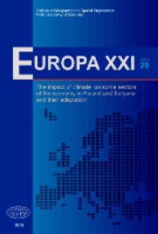 Europa XXI 29 (2015), Contents