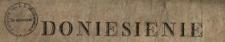 Doniesienie : [Inc.:] Redaktorowie Gazety Patryotyczney, którzy w wydaniu tey Gazety nie tak maią powod zysku, iaką raczey usługę Publiczności [...] : [Dat.:] w Warszawie d. 7. Czerwca 1794 R.