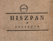 Hiszpan w Polszcze