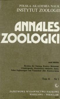 Revision der Gattung Zonites MONTFORT (Gastropoda, Zonitidae) : türkische Arten, nebst Ergänzungen und Verzeichnis aller Zonites-Arten