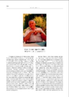 Prof. dr hab. Marek Gedl : 30 czerwca 1934 - 26 września 2014