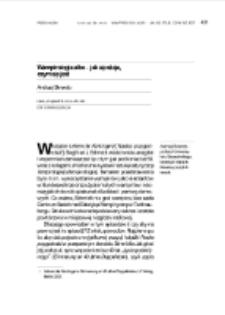Wampirologia albo – jak się staje, czym się jest