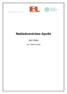Naśladownictwo Apolla