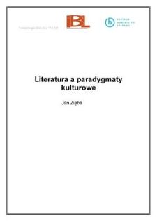 Literatura a paradygmaty kulturowe