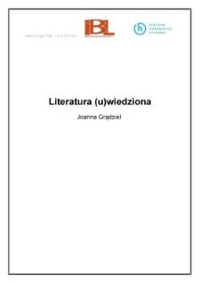 Literatura (u)wiedziona
