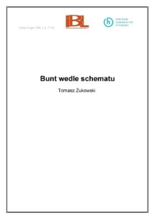 Bunt wedle schematu