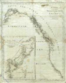 Karte von einem Theil der Nordwestlichen Küste von America : zu der Reise des Capit George Vancouver in den Jahren 1792, 1793 ung 1794