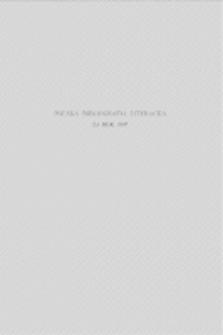 Polska Bibliografia Literacka za rok 1947