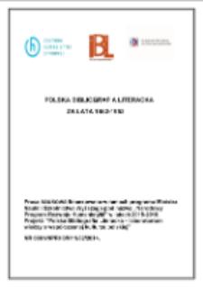 Polska Bibliografia Literacka za lata 1952-1953