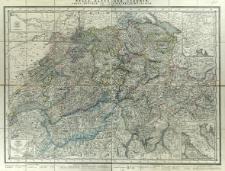 Reise-Karte der Schweiz = Carte routière de la confédération Suisse