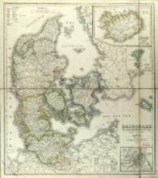 Daenemark mit seine Nebenlan̈dern in Europa