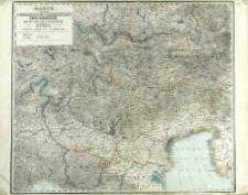 Karte von dem Lombardisch Venezianisch Königreiche und der gefürsteten Grafschaft Tyrol : nebst den angrenzenden Ländertheilen