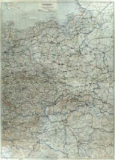 Durchgangsstraßen (Dg. Str.) : 1:1 000 000. Blatt Ostdeutschland