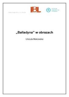 """""""Balladyna"""" w obrazach"""