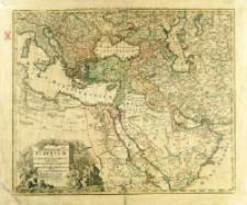 Imperium Turcicum in Europa, Asia Et Africa Regiones Proprias, Tributarias Clientelares sicut et omnes ejusdem Beglirbegatus Seu Praefecturas Generales exhibens