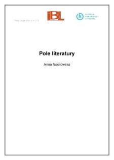 Pole literatury
