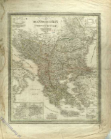 Das Osmanische Europa oder die Europaeische Türkey nebst dem Koenigr. Griechenland und den Jonischen Inseln