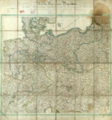 Neueste Karte von Deutschland in seine Bundesstaaten eingetheilt zufolge der Bestimungen des Wiener Congresses des Pariser Friedens vom 21ten Nov. 1815 und der neuesten Austauschungen