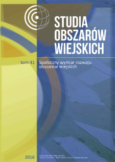 Sytuacja rozwojowa wsi w województwie opolskim w warunkach depopulacji = Development of rural areas in the Opolskie Voivodship under depopulation conditions