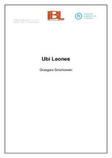 Ubi Leones