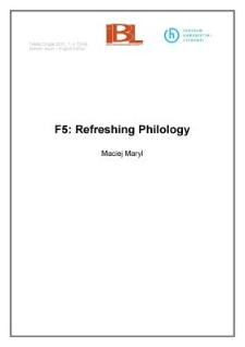 F5: Refreshing Philology