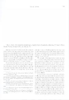 Die Schwerter in Rumänien, Tiberiu Bader, Prähistorische Bronzefunde, Abteilung IV, Band 8, Stuttgart 1991 : [recenzja]