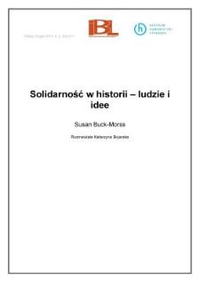 Solidarność w historii – ludzie i idee