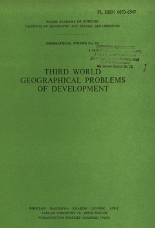 Third World geographical problems of development : proceedings of the III Polish-Soviet Seminar, Warsaw, September 1979 = Razvivaûŝiesâ strany geografičeskie problemy razvitiâ