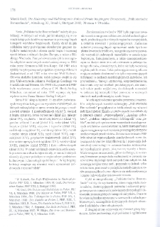 """Die Halsringe und Halskragen in Polen I (Frühe bis jüngere Bronzezeit), Marek Gedl, """"Prähistorische Bronzefunde"""", Abteilung XI, Band 6, Stuttgart 2002 : [recenzja]"""