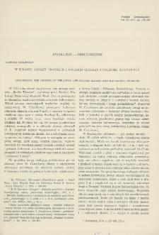 W sprawie genezy trackich i dackich ołtarzy i palenisk kultowych