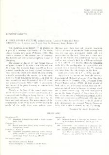 Funnel Beaker culture, eastern group, classical Wiórek (III) Phase : Zberzyn, gm. Kleczew, woj. Konin, Site 3a, Kuiavian Long Barrow IV