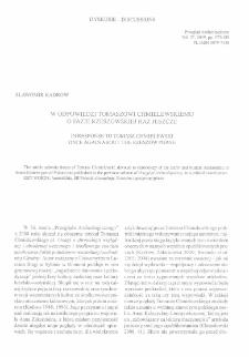 W odpowiedzi Tomaszowi Chmielewskiemu : o fazie rzeszowskiej raz jeszcze = In response to Tomasz Chmielewski : once again about the Rzeszów phase