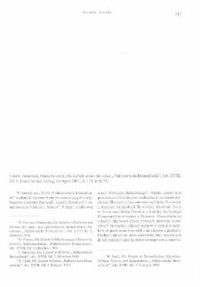 Die Sicheln in der Slowakei, Václav Furmánek, Mária Novotná, Stuttgart 2006 : [recenzja]