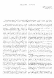 Archeologia Baltica, ed. Vytautas Kazakevičius and Raymond Sidrys. 1.Western world. Baltic archeology. Burial practices. Artefacts, Vilnius 1995 : [recenzja]