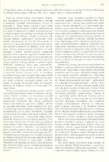 Préhistoire de la pierre taillée. 1, Terminologie et technologie, J. Tixier, M. L. Inizan, H. Roche, Valbonne 1980, : [recenzja]